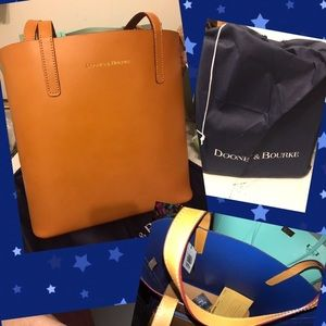 Dooney and Bourke waverly Leather tote